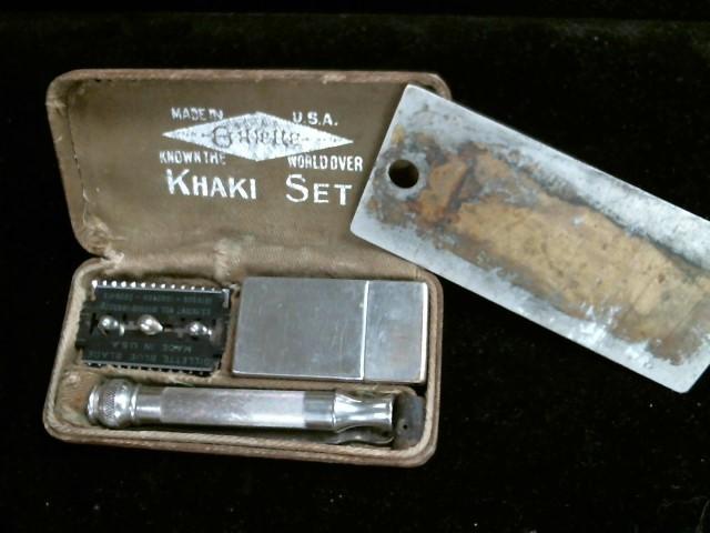 GILLETTE Military Memorabilia KHAKI SET