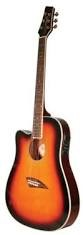 KONA GUITAR Electric-Acoustic Guitar K1ELN