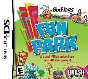 NINTENDO Nintendo DS Game SIX FLAGS FUN PARK