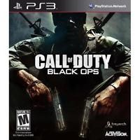SONY Sony PlayStation 3 Game PS3 CALL OF DUTY BLACK OPS