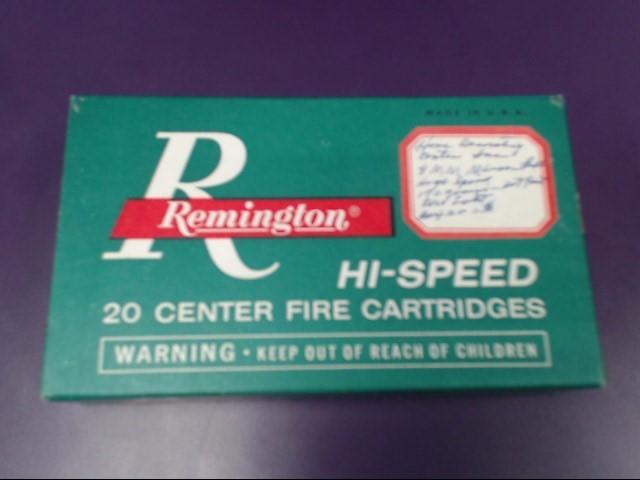 REMINGTON FIREARMS & AMMUNITION Ammunition 8MM MAUSER AMMO