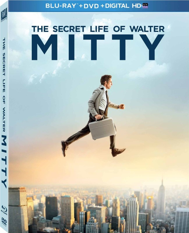 BLU-RAY MOVIE THE SECRET LIFE OF WALTER MITTY
