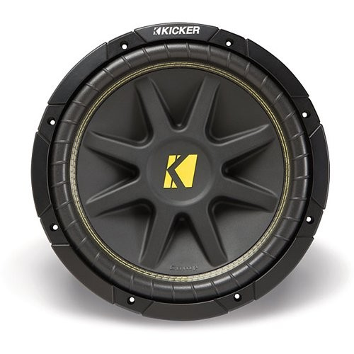 "KICKER 10C124 12"" 500W 4-Ohm COMP Car Audio Subwoofe"