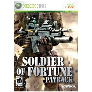 MICROSOFT Microsoft XBOX 360 SOLDIER OF FORTUNE PAYBACK