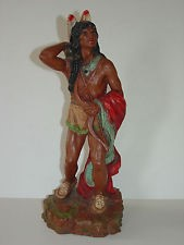 UNIVERSAL STATUARY CORP Collectible Plate/Figurine INDIAN