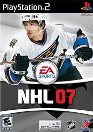 SONY Sony PlayStation 2 PS2 NHL 07