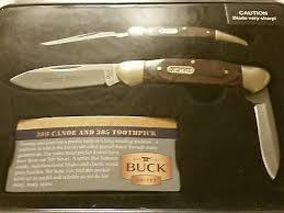 BUCK KNIVES Pocket Knife 389 CANOE 385 TOOTHPICK