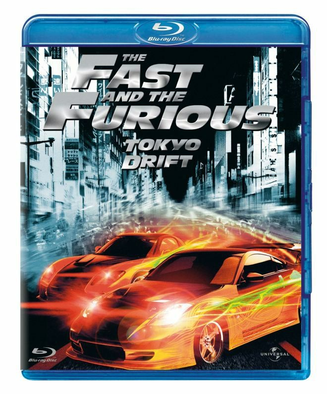 BLU-RAY MOVIE Blu-Ray THE FAST AND THE FURIOUS TOKYO DRIFT