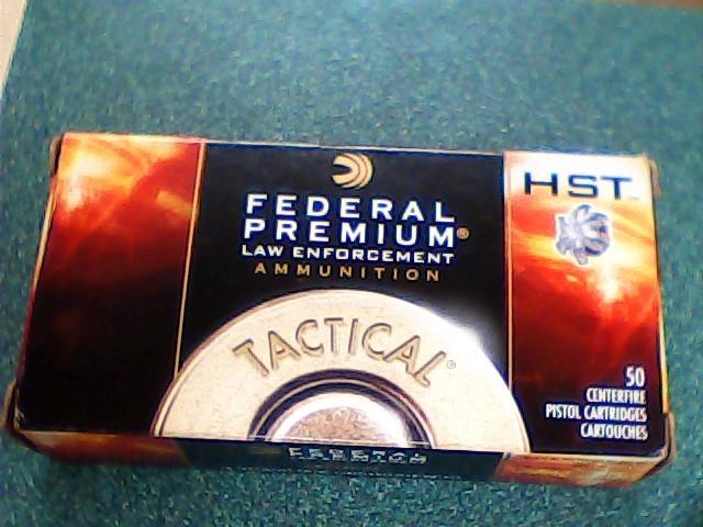 FEDERAL AMMUNITION Ammunition P40HST3