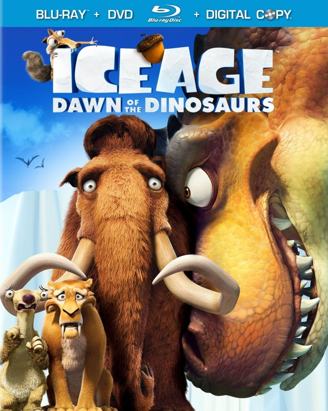 BLU-RAY MOVIE Blu-Ray ICE AGE DAWN OF THE DINOSAURS