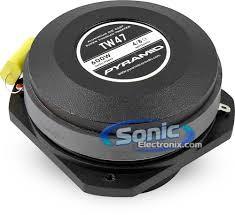 PYRAMID CAR AUDIO Car Speakers/Speaker System TW47