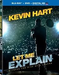BLU-RAY MOVIE Blu-Ray KEVIN HART LET ME EXPLAIN