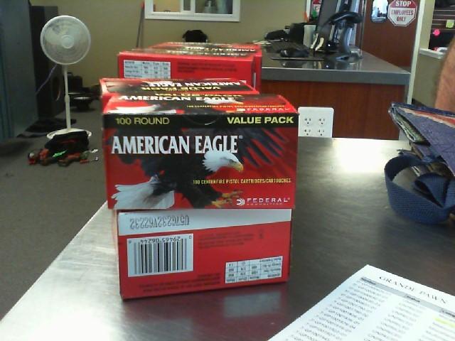 AMERICAN EAGLE AMMUNITION Ammunition .40 SW 180GRAIN