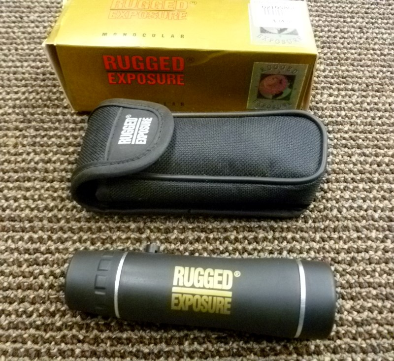 RUGGED EXPOSURE Binocular/Scope 10X25