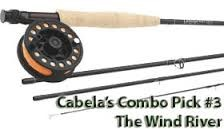 CABELAS Fishing Rod & Reel THREE FORKS/PRESTIGE PLUS FLY COMBO