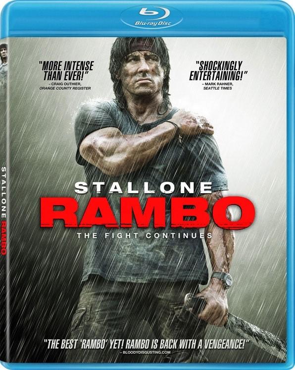 BLU-RAY MOVIE Blu-Ray STALLONE RAMBO