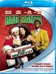 BLU-RAY MOVIE  BAD SANTA