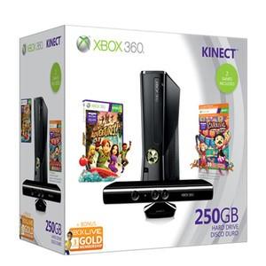 MICROSOFT XBox 360 XBOX 360S - 250GB - KINECT - CONSOLE
