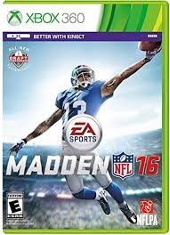 MICROSOFT Microsoft XBOX 360 Game MADDEN NFL 16 - XBOX 360