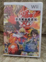 NINTENDO Nintendo Wii Game BAKUGAN