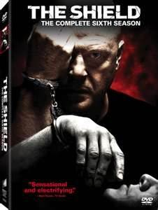 DVD BOX SET DVD THE SHIELD SEASON 6