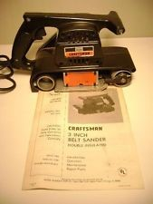 "CRAFTSMAN BELT SANDER 3X21"" 7A 315.11721"