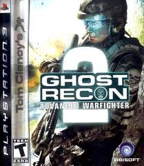 SONY Sony PlayStation 3 Game GHOST RECON ADVANCED WARFIGHTER 2 PS3