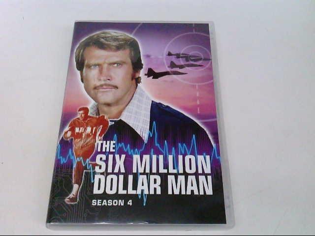 UNIVERSAL STUDIOS DVD THE SIX MILLION DOLLAR MAN SEASON 4