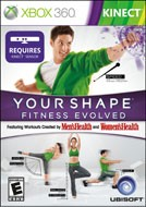 MICROSOFT Microsoft XBOX 360 Game YOUR SHAPE FITNESS EVOLVED