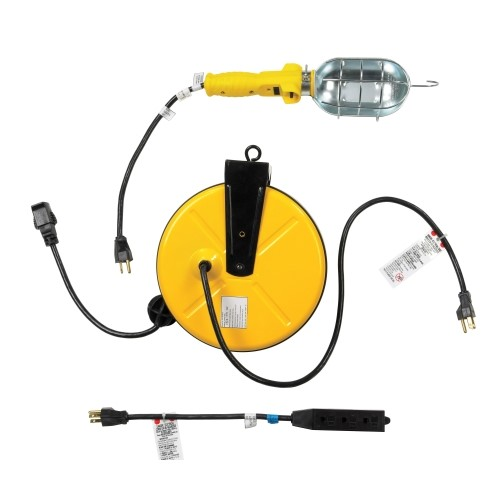 Ace Hardware Trouble Light With Retractable Cord Reel Buya