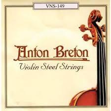 ANTON BRETON 4/4 VIOLIN STEEL STRINGS VNS149