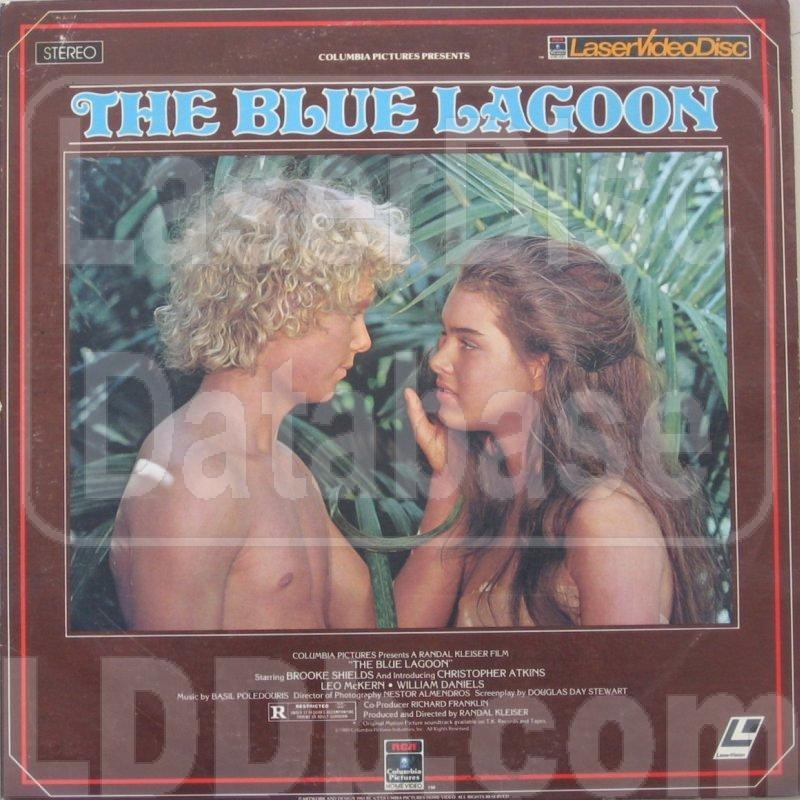 LASER DISC Laser Disk THE BLUE LAGOON
