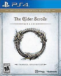 SONY Sony PlayStation 4 Game ELDER SCROLLS TAMRIEL UNLIMITED