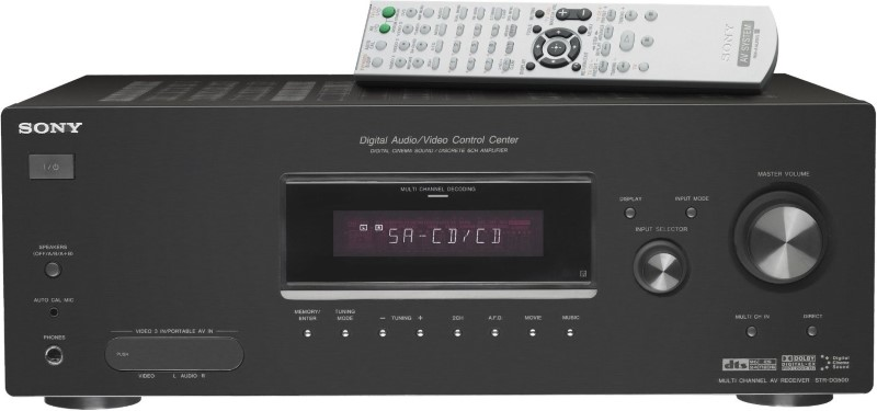 SONY Receiver STR-DG500