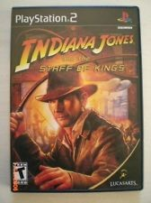 SONY Sony PlayStation 2 INDIANA JONES AND THE STAFF OF KINGS