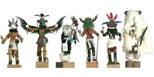 Collectible Plate/Figurine KACHINA DOLLS