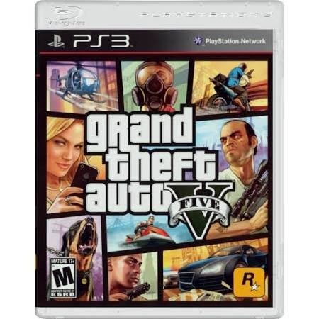 SONY Sony PlayStation 3 Game GRAND THEFT AUTO V - PS3