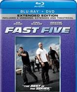 BLU-RAY MOVIE Blu-Ray FAST FIVE
