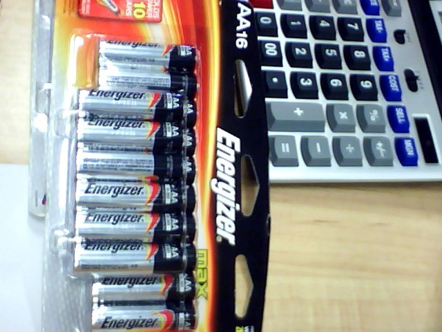 ENERGIZER BATTERIES AA 16