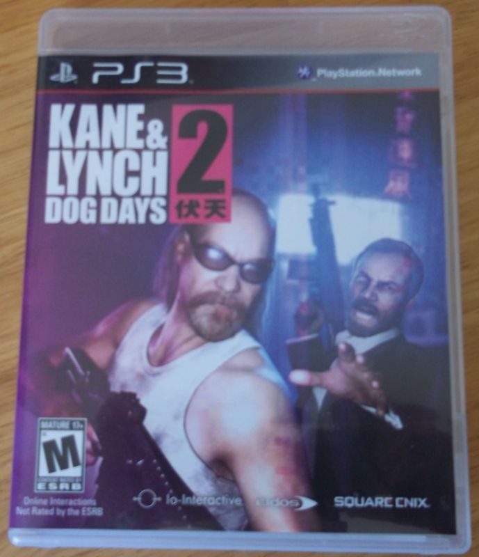 EIDOS INTERACTIVE Sony PlayStation 3 Game KANE&LYNCH 2 DOG DAYS-PS3