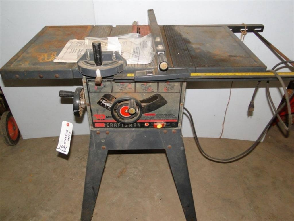 Craftsman Table Saw Buya