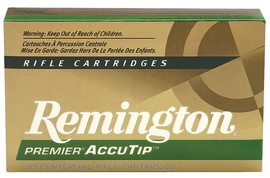 REMINGTON AMMUNITON Ammunition .308 WIN 165 GR ACCUTIP