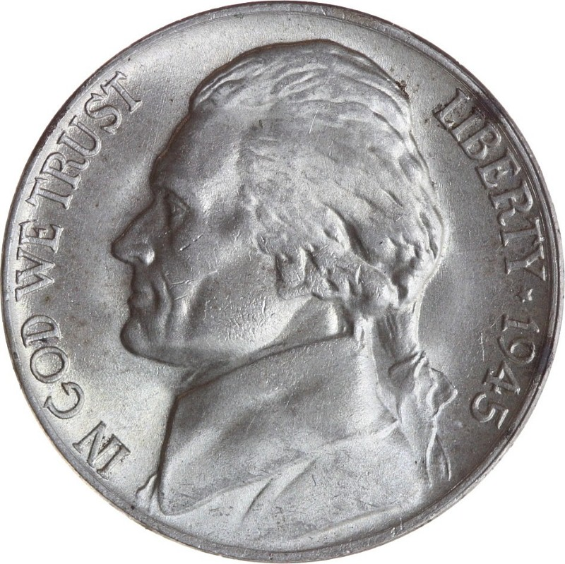 UNITED STATES Coin 1945 NICKLE