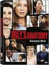 GREY'S ANATOMY SEASON 1 DVD, GOOD CONDITION
