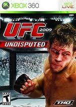 THQ Microsoft XBOX 360 Game UFC UNDISPUTED 2009