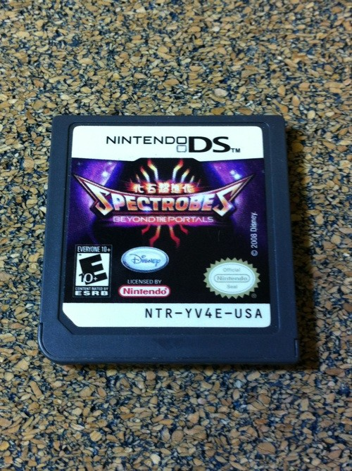NINTENDO Nintendo DS Game SPECTROBES BEYOND THE PORTALS