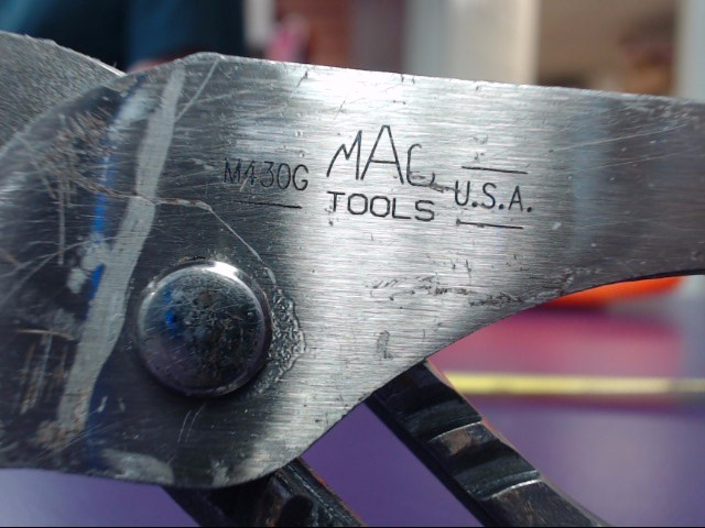 MAC TOOLS Pliers M430G