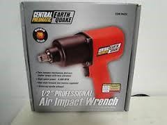 "CENTRAL PNEUMATIC Air Impact Wrench 68424 1/2"" AIR IMPACT WRENCH"