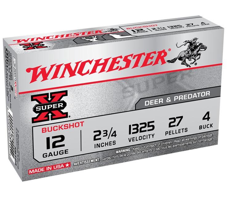 WINCHESTER SUPER X 12 GA 00 BUCK