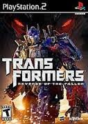 SONY Sony PlayStation 2 TRANSFORMERS:  REVENGE OF THE FALLEN PS2